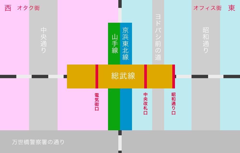 秋葉原マップ3