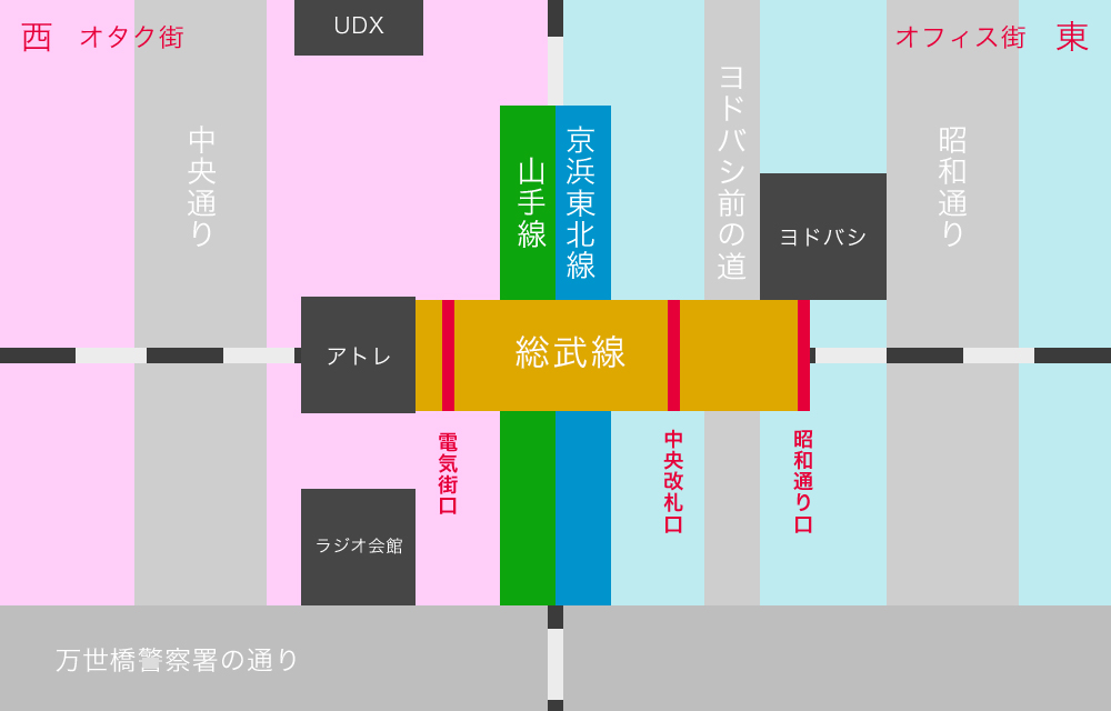秋葉原マップ4