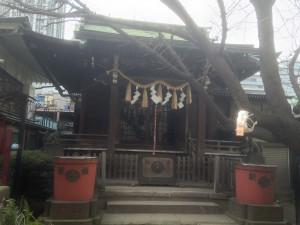 柳森神社 拝殿