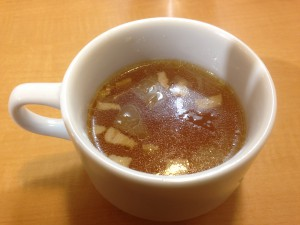 神田たまごけん コンソメスープ